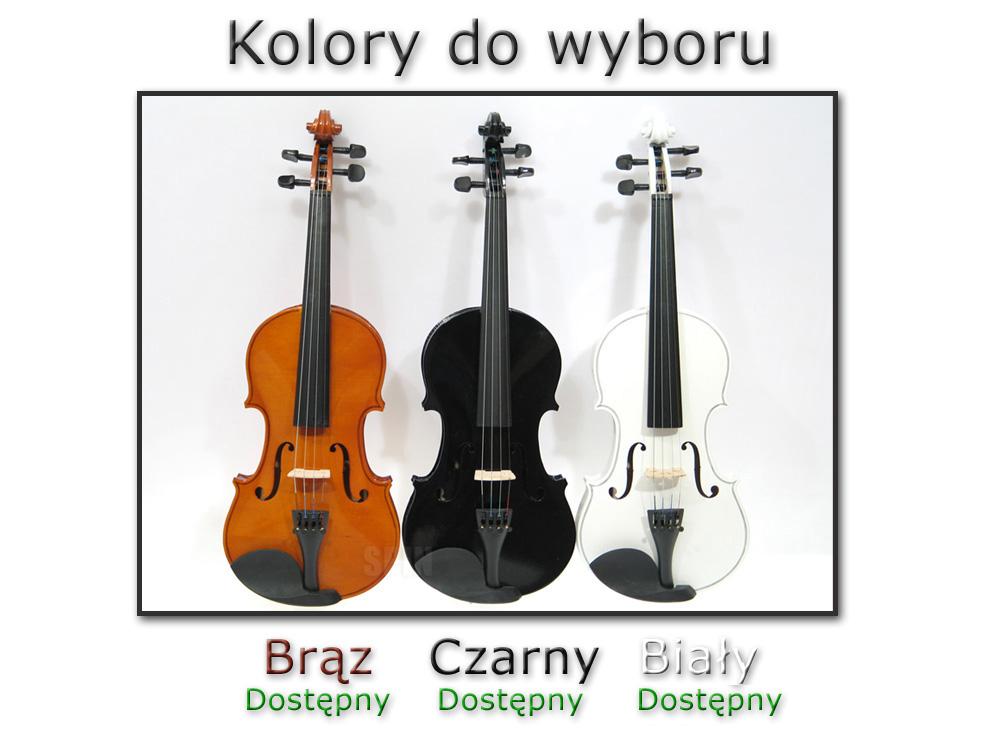 tanie skrzypce