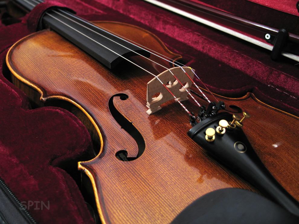 skrzypce antyk
